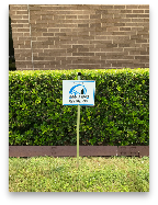 All Tech Security Yard Sign